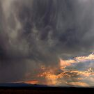 Three Sisters Thunder Storm by Charles &amp; Patricia   Harkins ~ Picture Oregon