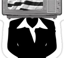TV CITIZEN (Female) Sticker