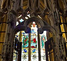 Exeter cathedral by CazSteffens