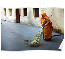 Street sweeper Poster