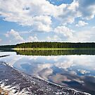 Lake reflections by Sergey Martyushev
