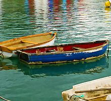 Old Skiffs ~ Lyme Regis by Susie Peek