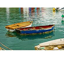 Old Skiffs ~ Lyme Regis Photographic Print