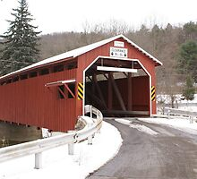 Patterson No.112 Covered Bridge by enyaw