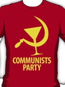 Communists Party T-Shirt