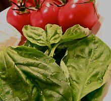 Tomato Basil Mozzarella Ingredients 2 by crystalmraymond