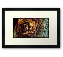ages on the seaside Framed Print