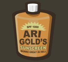 Ari Gold's Sunscreen by waywardtees