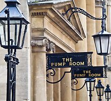 The Pump Room at the Roman Baths, Bath, England  by Jo Blunn