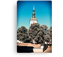 Tallinn. Old Town. Canvas Print