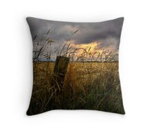 Willamette Valley Harvest Time Throw Pillow