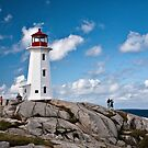 Peggy&#x27;s Cove Light by PhotosByHealy
