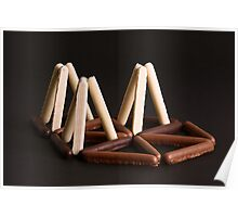 White, Milk, or Plain Chocolate Fingers ? Poster