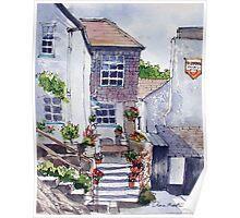 Polperro cottage Poster