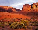 Sunset, Monument valley by photosbytony