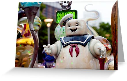 Stay Puft Marshmallow Man in Slime by Keith Stephens