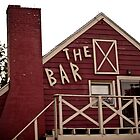 The Bar in Red by Keith Stephens