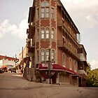 Downtown Eureka Springs by Keith Stephens