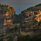 Monasteries of Meteora #1 by Peter Hammer
