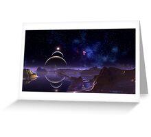 Reflective Moons - Rim World Greeting Card