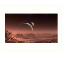 Dust Storm - Rlisa  Art Print