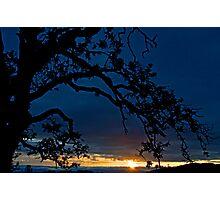 Ankeny Hill Sunset Photographic Print