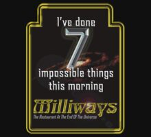 Milliways 7 things by chewietoo