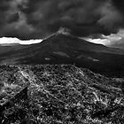 Mt Batur, Bali by Chris Westinghouse