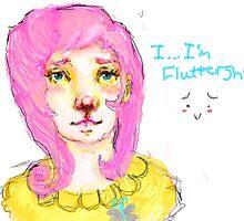 Fluttershy Gijinka by LadyBolet