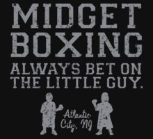 Midget Boxing by waywardtees