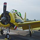 N726A T-28B Trojan Nose Shot by Henry Plumley