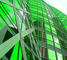 Green Pickle Building by DoctorPedro
