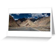 Karakoram Highway Greeting Card