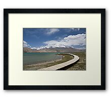 Lake Kara Kul Framed Print
