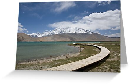 Lake Kara Kul by Gillian Anderson LAPS, AFIAP