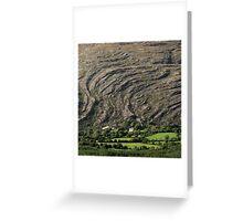 Mountain waves Greeting Card
