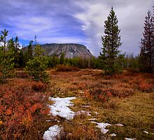 Haystack Mountain by Charles & Patricia   Harkins ~ Picture Oregon