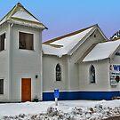 Superior (Montana) United Methodist Church by Bryan D. Spellman
