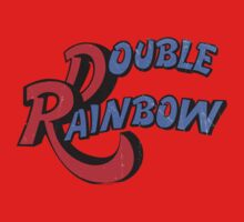 Double Rainbow-Dirty Logo by fohkat