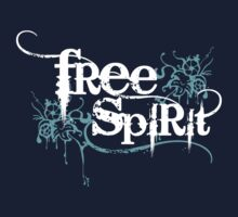 Free Spirit - White Text by LTDesignStudio