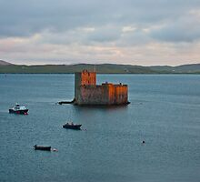Castlebay Barra by Lawrence McWatt