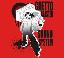 Ghetto Blaster Sound System by SeanE