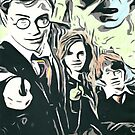 Harry Potter Characters by chrisjh2210