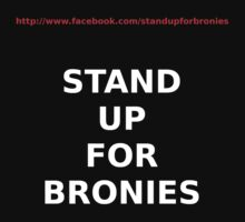 Stand Up for Bronies by JaySticLe
