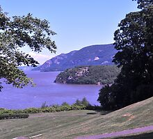 Hudson view from West Point by michael6076