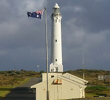 Dark skies over Cape Leeuwin  by DashTravels