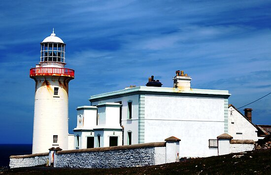 Arranmore Lighthouse by Stephen Maxwell