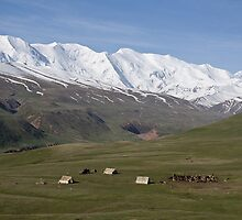 Pamirs near Sary Tash by Gillian Anderson LAPS, AFIAP