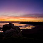 Santa Cruz Sunset by TimCatteraPhoto