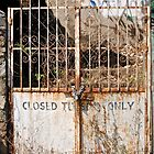 closed tuesday only by richard  webb